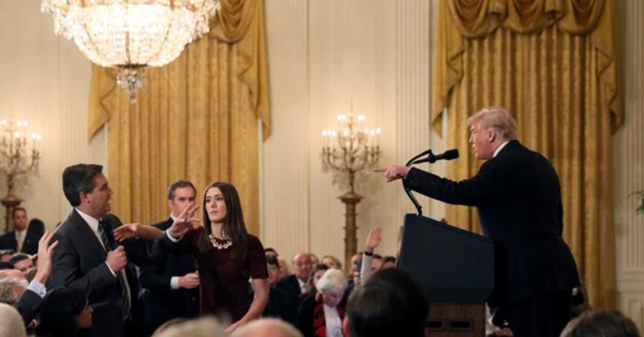 CNN announces to sue Trump, WH officials over suspension of Acosta's press pass