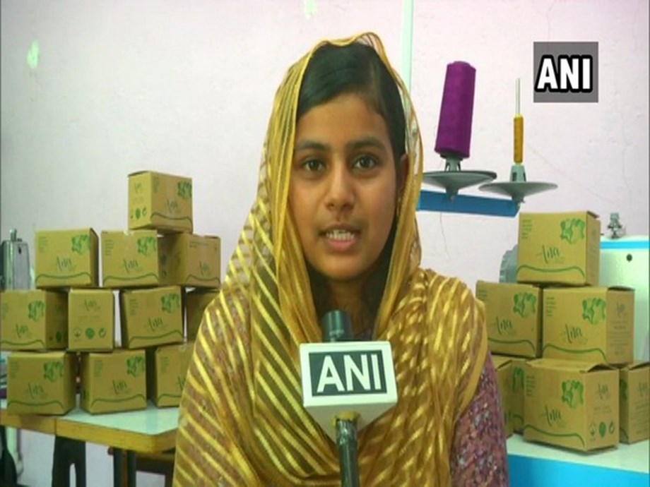 Coimbatore: 18-yr-old girl makes eco-friendly, reusable cotton sanitary pads