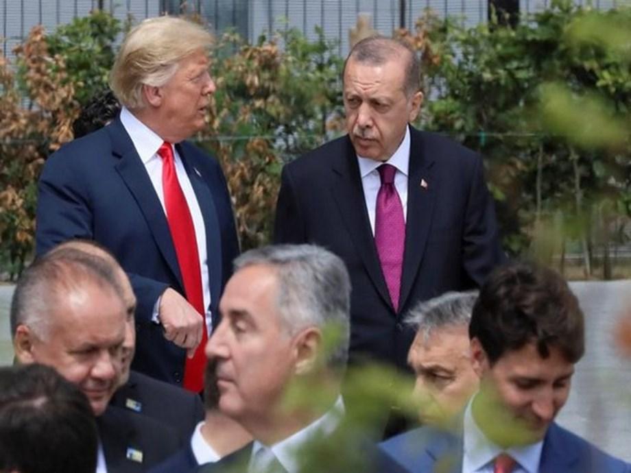 UPDATE 1-Trump discusses Syria, Libya with Turkey's Erdogan -White House