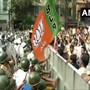 BJP workers protest in Kolkata against Mamata Govt over spurt in dengue cases