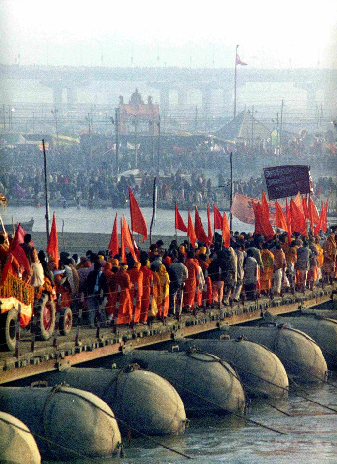 Kumbh Mela 2019: 13 'Akharas' of Shaiva, Vaishnava, Udaseen prepared for holy dip