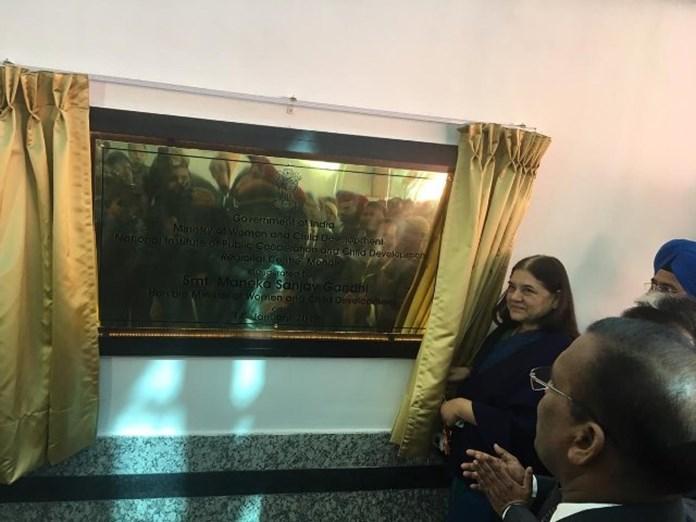 Maneka Gandhi inaugurates 5th Regional Centre of NIPCCD at Mohali, Punjab