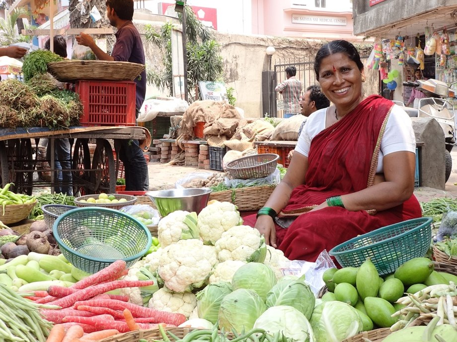 Retail inflation in India falls sharply during December