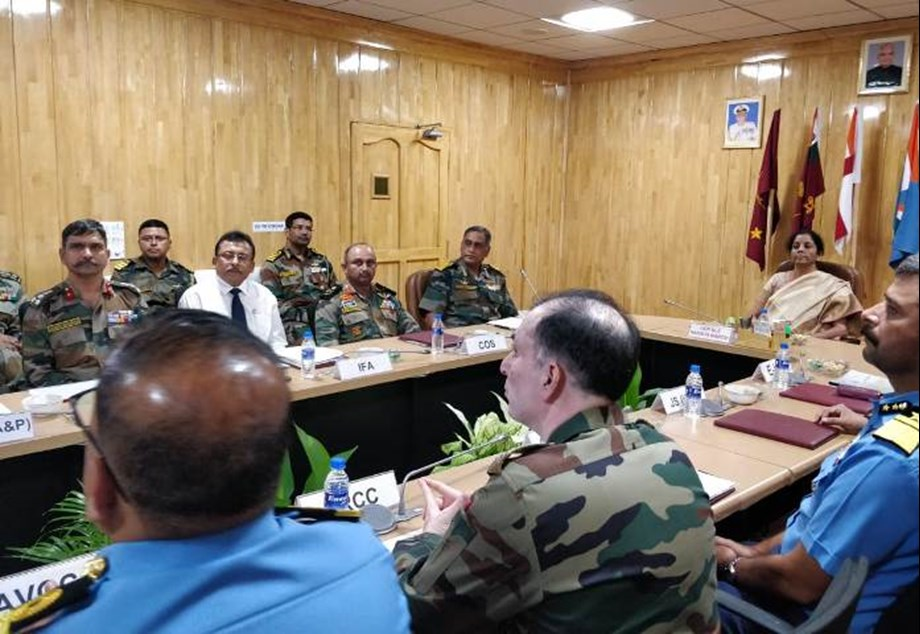 Raksha Mantri reviews operational readiness of Andaman and Nicobar Command