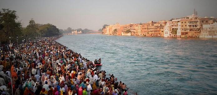Pilgrims flock holy waters ahead of official start of Kumbh Mela