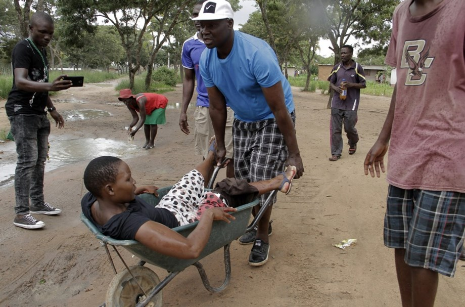 South African monitoring events in Zimbabwe following violent protests