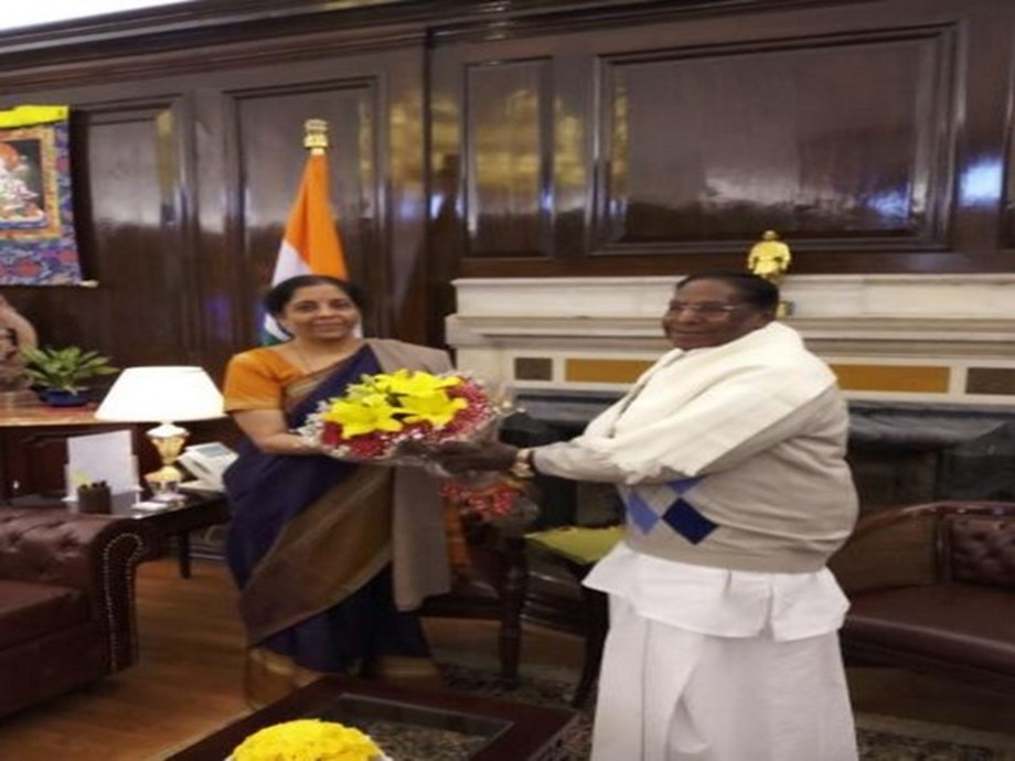 CM Narayanasamy requests Sitharaman for immediate release of GST compensation amount payable to Puducherry