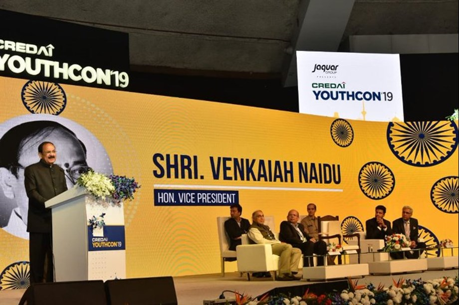 Real Estate sector essential for equitable growth of economy: VP at 3rd YouthCon