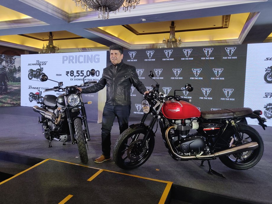 Triumph unveils revamped Street Twin, Street Scrambler starting at Rs 7.45 lakh