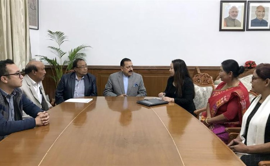Delegation discusses on issues related to empowerment of North-Eastern Region