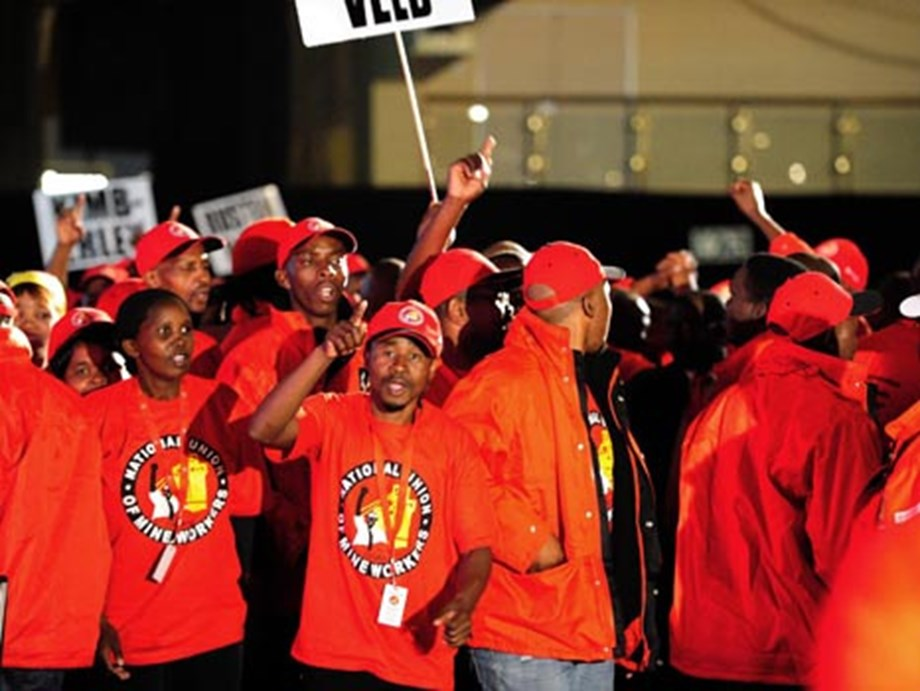 NUM warns African Congress of any plans to split state power firm Eskom