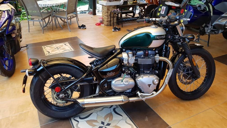 Superbike maker Triumph expects Indian sales to remain flat this fiscal