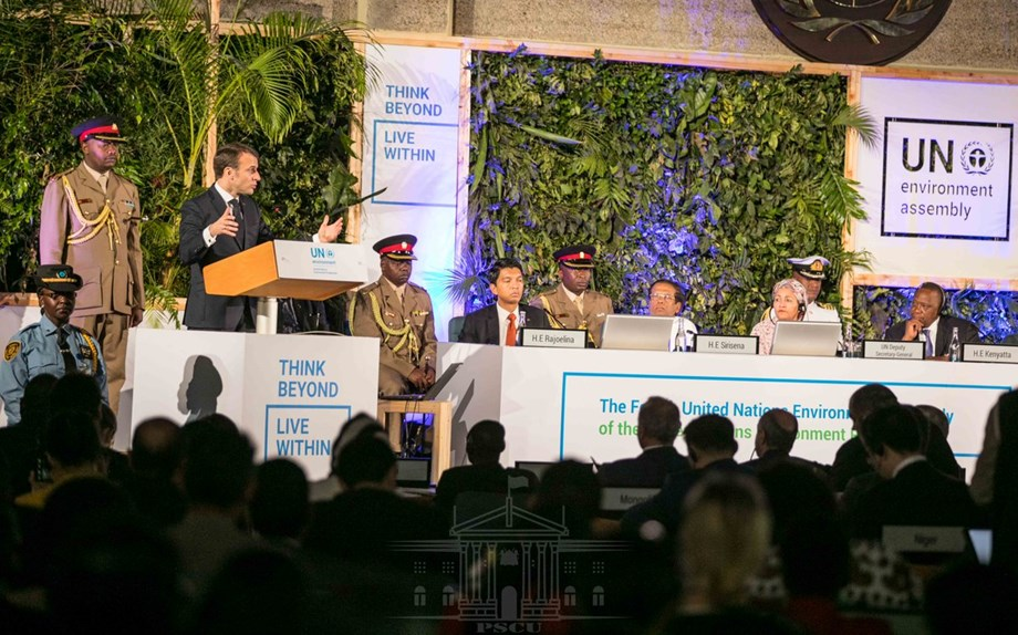 Indian-piloted resolution on plastic, nitrogen management steals show at UNEP