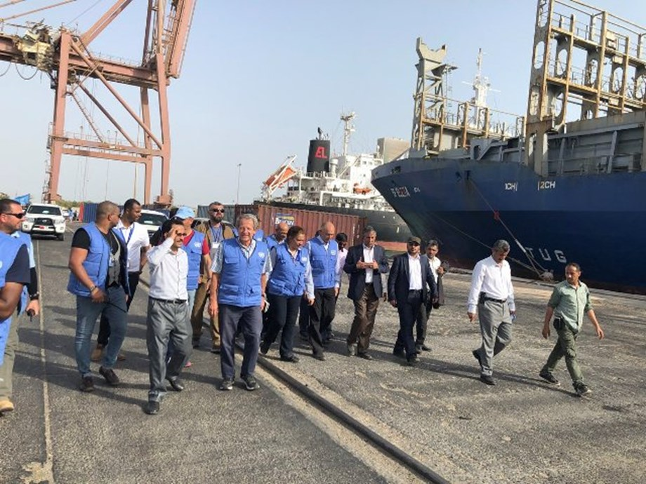 Houthi forces withdrawal from Yemen ports verified by UN monitoring team