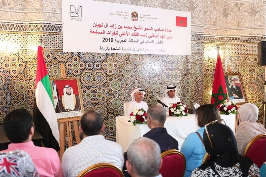 Mohamed bin Zayed Iftar Campaign 2019 to assist some 65,000 families in Morocco
