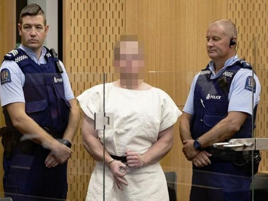 UPDATE 1-Accused Christchurch shooter pleads not guilty to all charges in NZ court