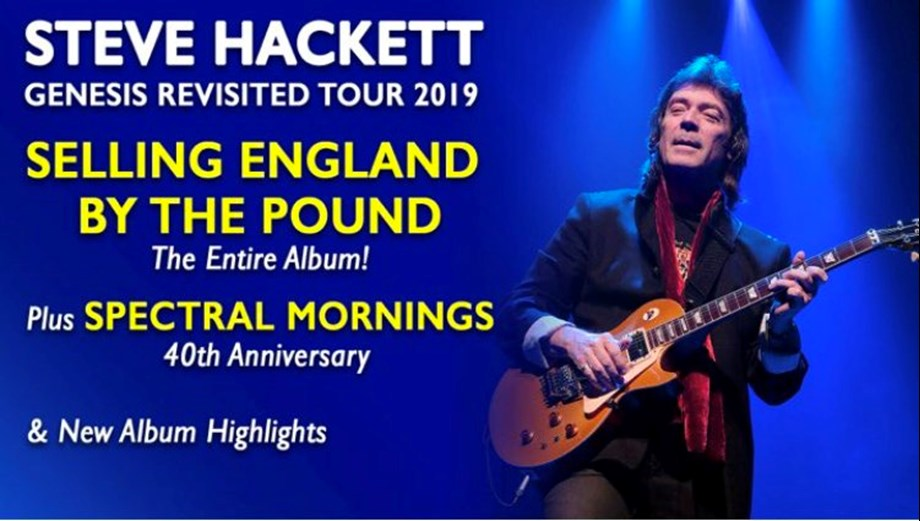 Steve Hackett to celebrate 40th anniversary of album's release in New Zealand