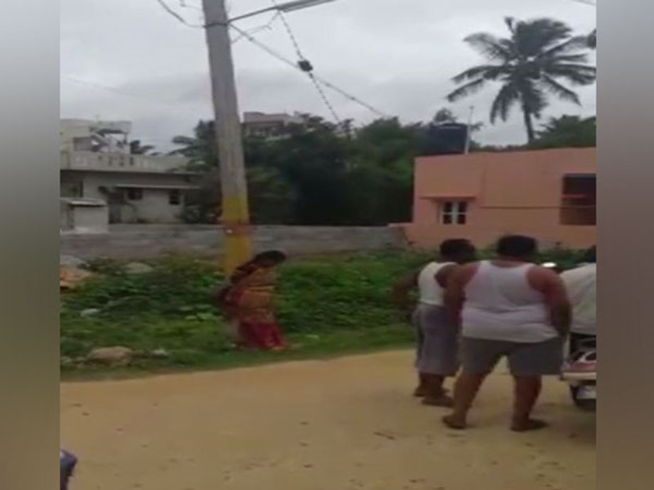 Karnataka: Woman tied to pole, harassed; 7 arrested