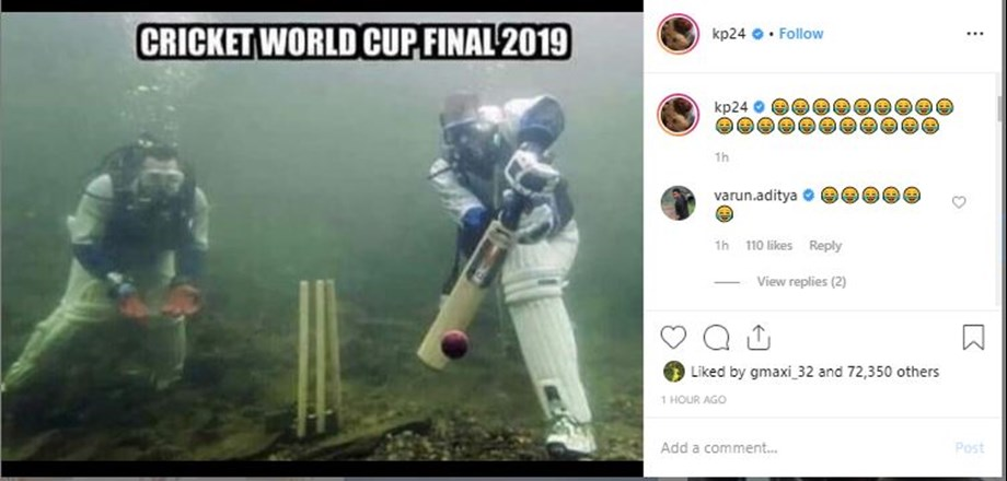 Kevin Pietersen posts hillarious picture on CWC'19