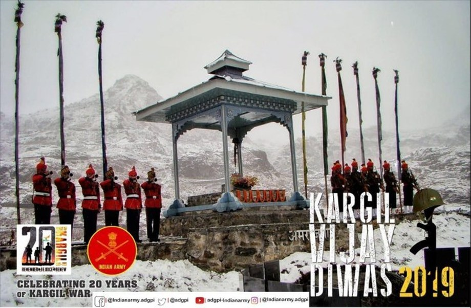 20thyear of victory in Kargil War to be celebrated with pride and inspiration