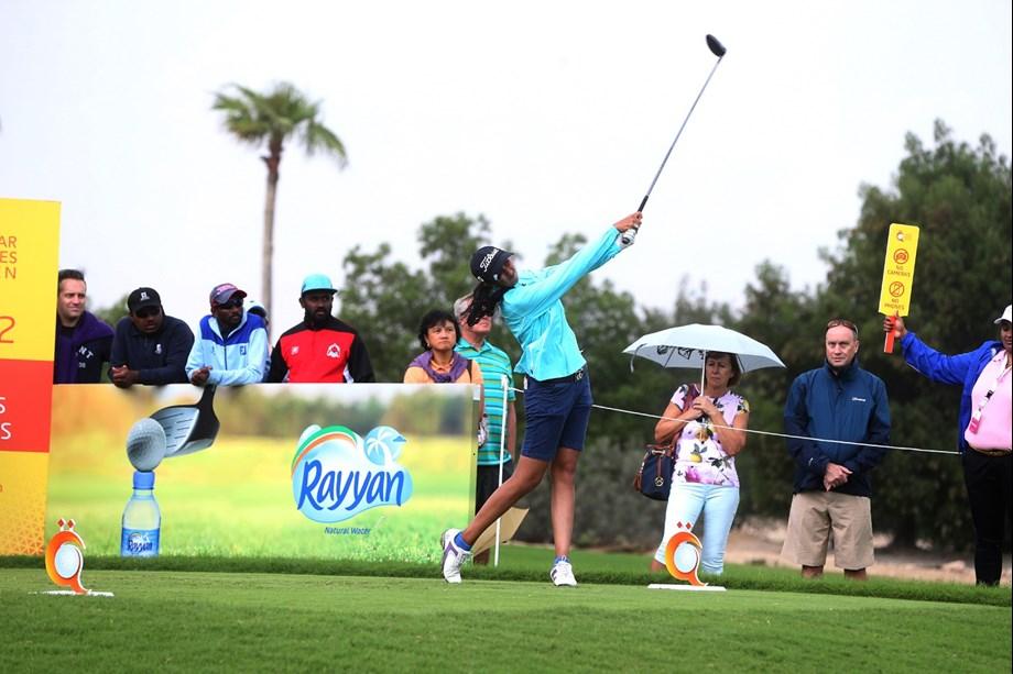 Aditi Ashok starts with 71, lies T-33 in LPGA classic