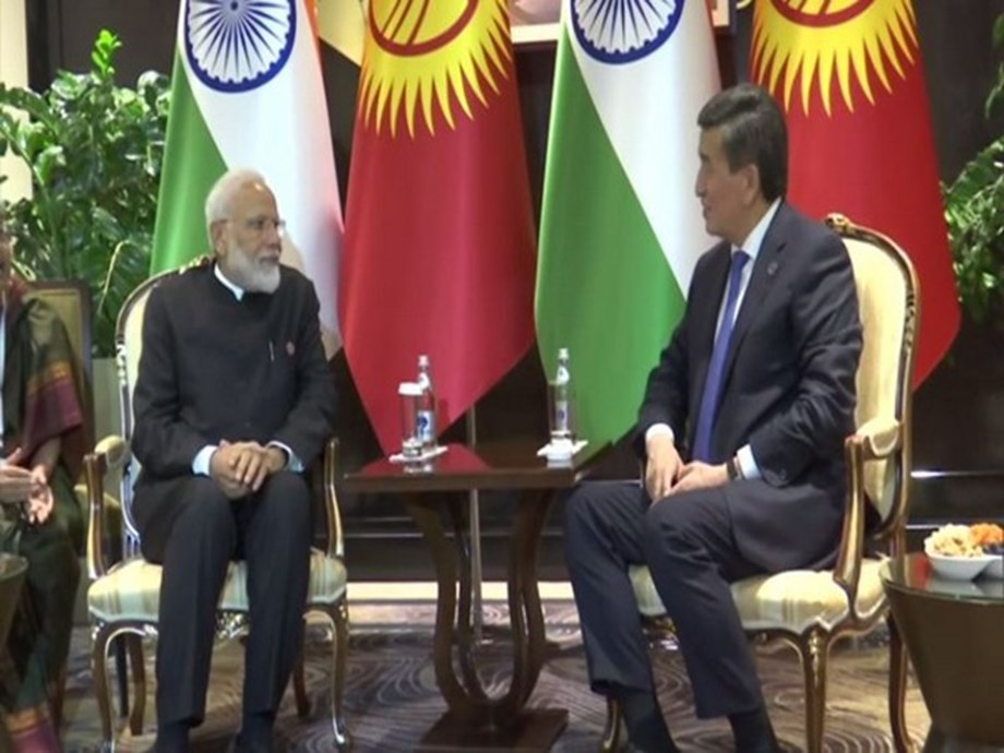 India gives 200 million dollar line of credit to Kyrgyzstan : PM Modi