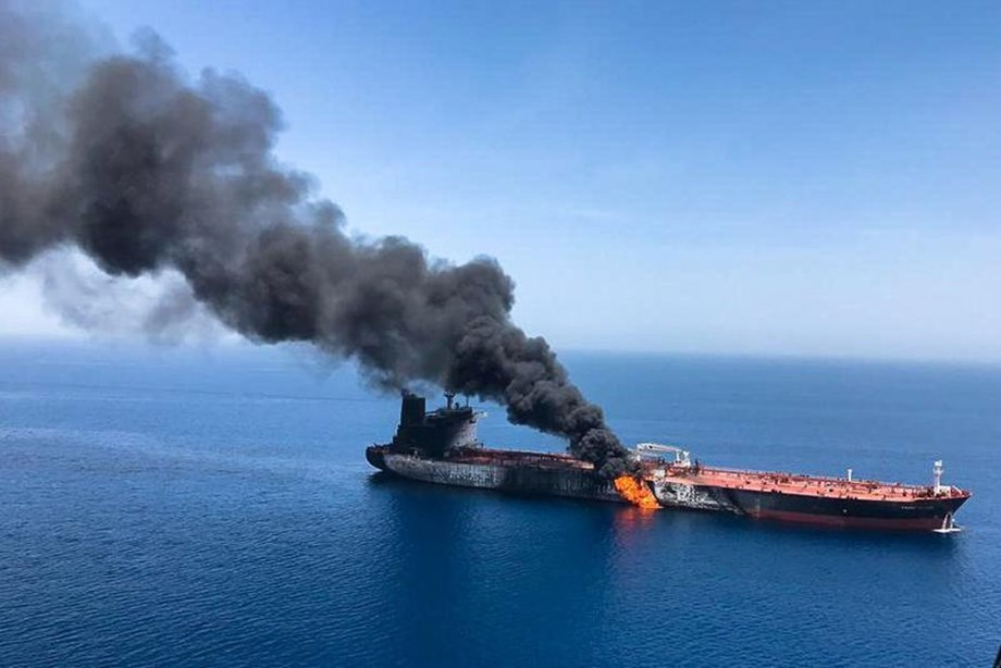 UPDATE 1-Blast-hit Kokuka tanker being towed towards UAE -operator