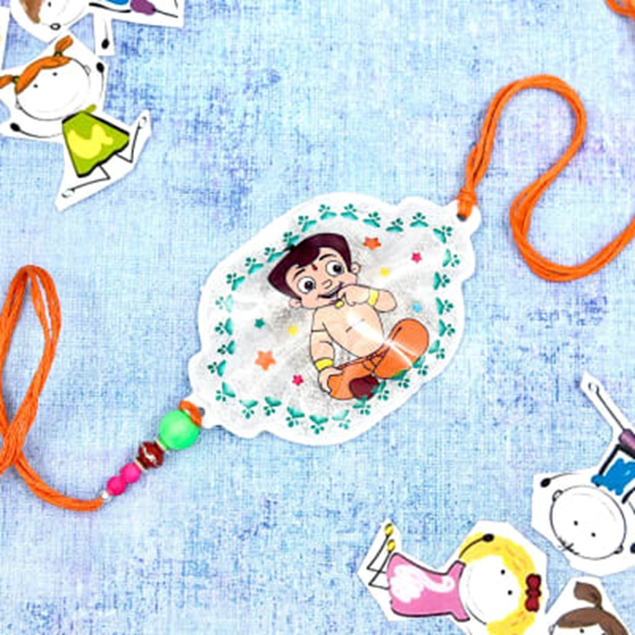 Chhota Bheem to Queen Victoria's rakhi catching eye of buyers in market