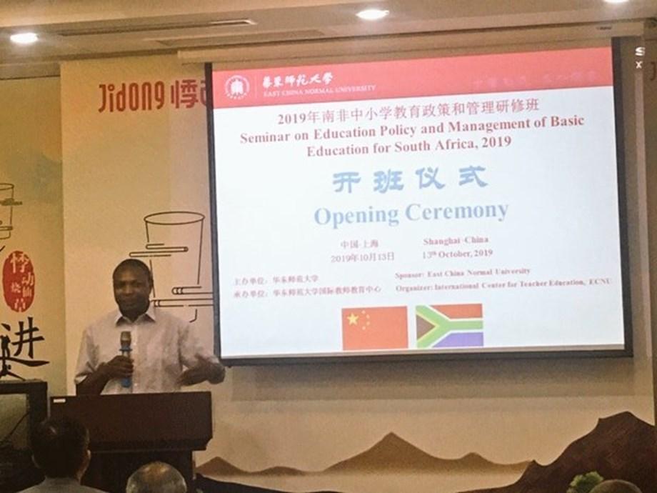 SA school principals arrive in China to participate in study tour