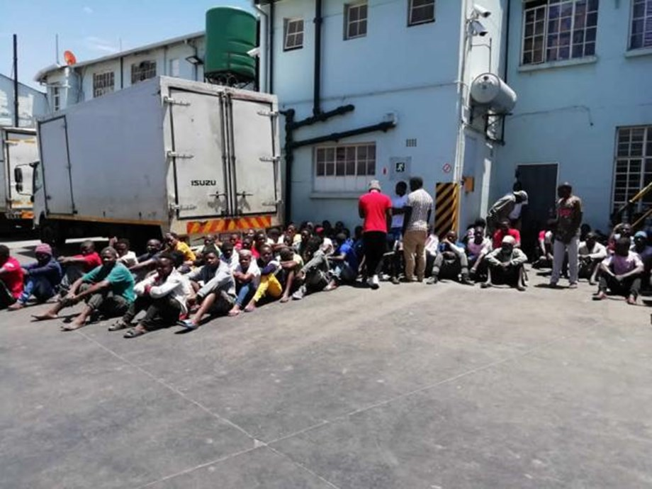 Chinese factory busted for human trafficking in Gauteng
