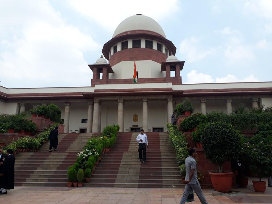 SC issues notice to centre and Maharashtra on Chatrapati Shivaji Memorial