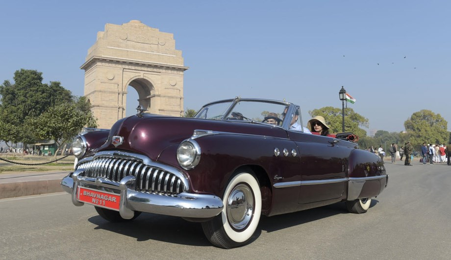 Rare vintage automobile beauties from India and abroad steal show at car rally
