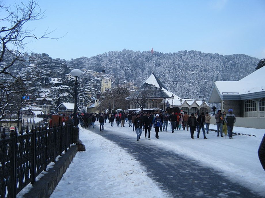 Himachal PWD plans to stabilise sinking Ridge in Shimla