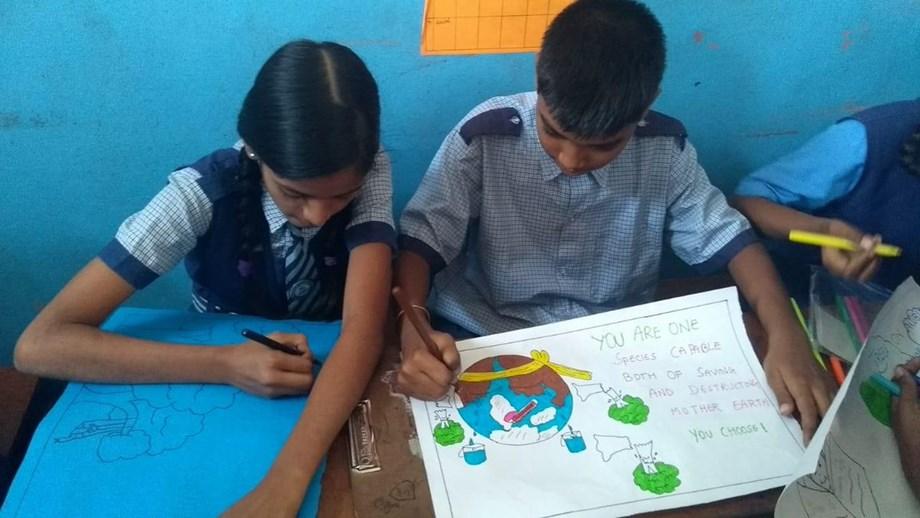'No more excuses': Delhi-NCR students raise voice against climate change