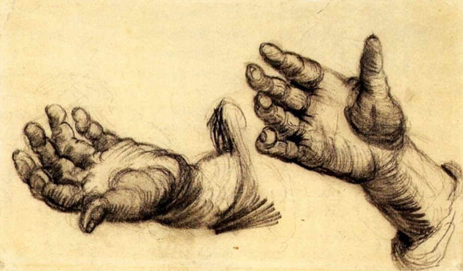 Exemplary accuracy in a rare art: Dutch artists draws with both hands