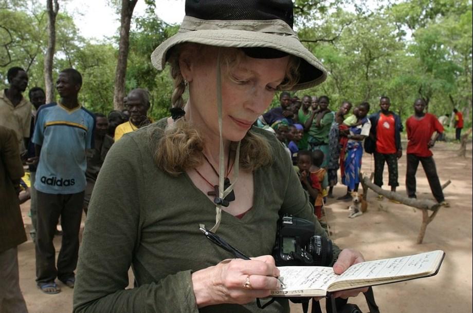 Activist Mia Farrow to continue anti-hunger work in South Sudan