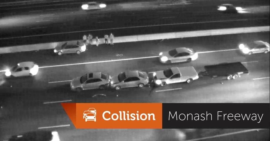 Massive road accident reported from Monash Freeway; traffic chaos ahead