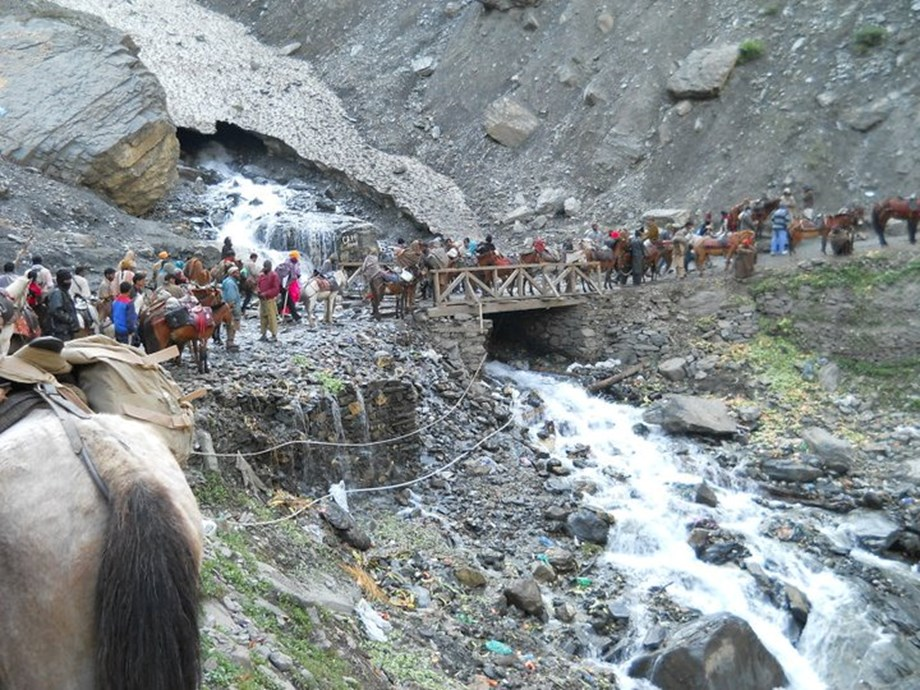 Security arrangements for Amarnath Yatra scaled up with barcode slips, RFID tags