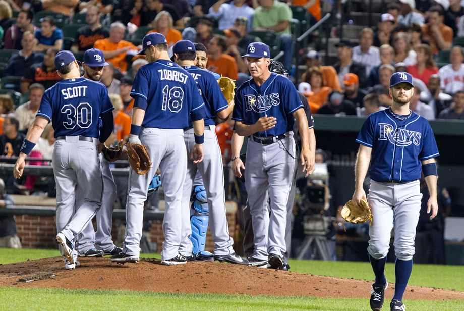 Rays use 20 hits to pummel O's, 16-4