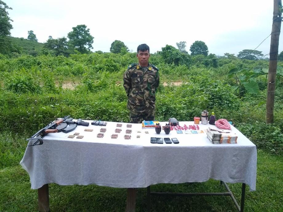 Security forces apprehend NSCN (IM) area commander in Assam