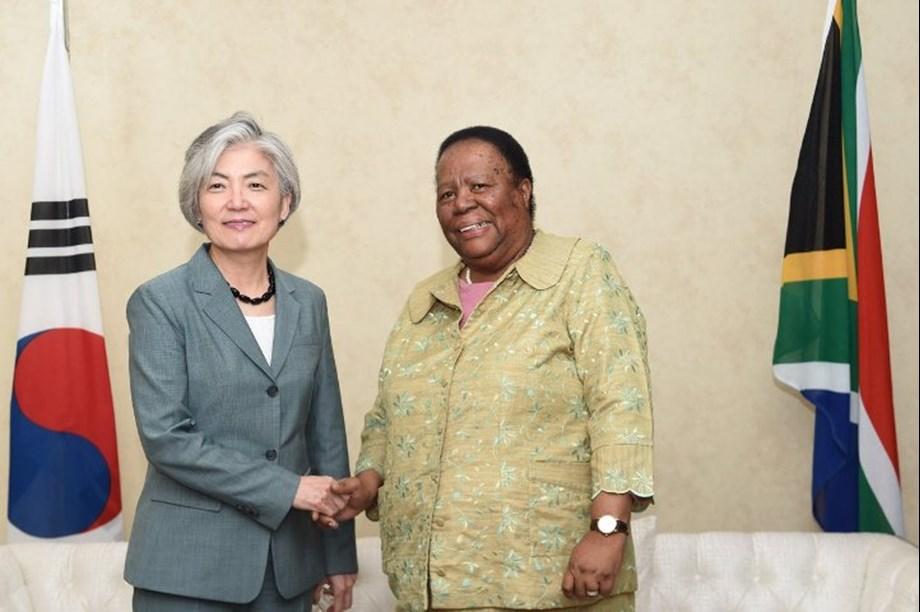 DPRK and Korea begin process of discussing peace, Naledi Pandor says
