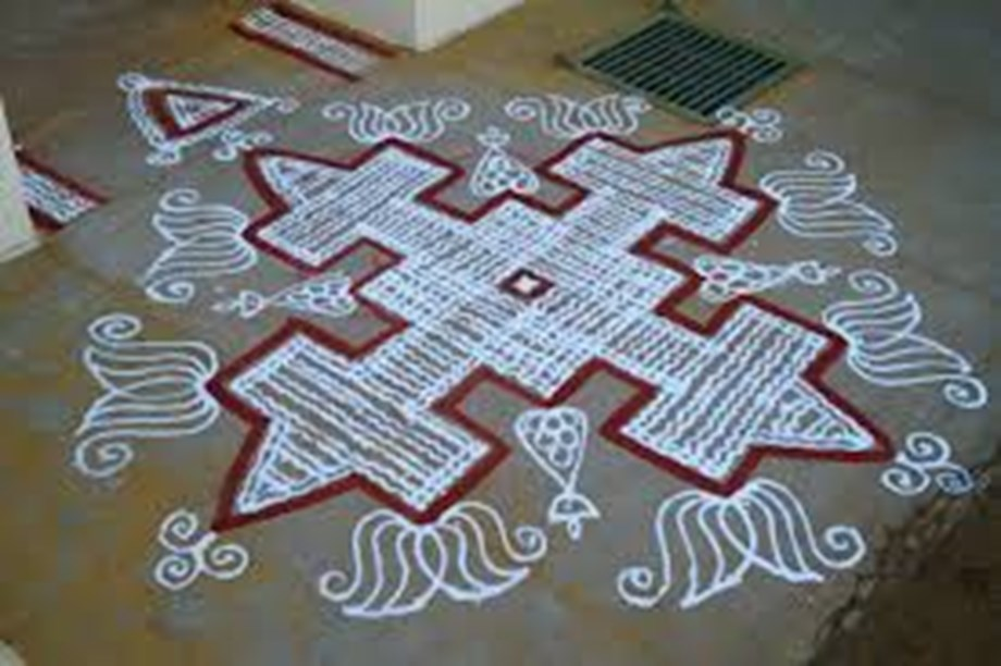 FEATURE-South India's kolam art helps women map business opportunities