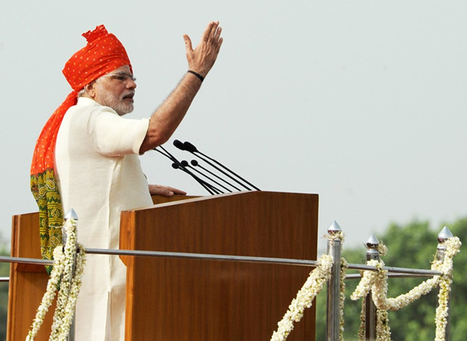 Happy Independence Day to all Indians, PM Modi says