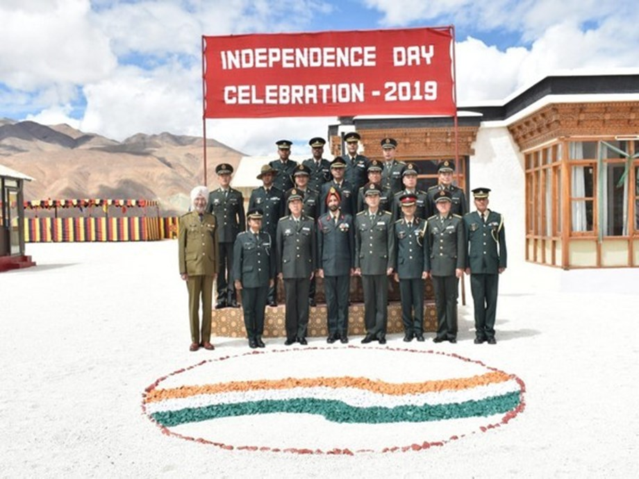 Ceremonial BPM held between Indian and Chinese Army on occasion of 73rd Independence Day