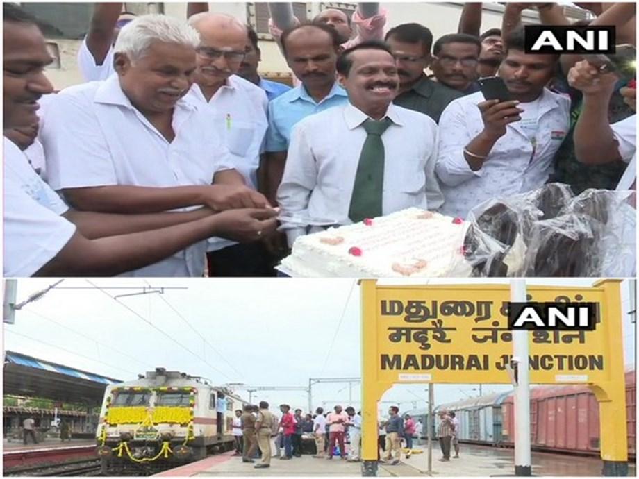 Madurai flagship train, Vaigai Express, marks 42 years service