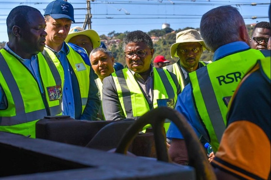 Transnet inspection critical element of safety management: Fikile Mbalula