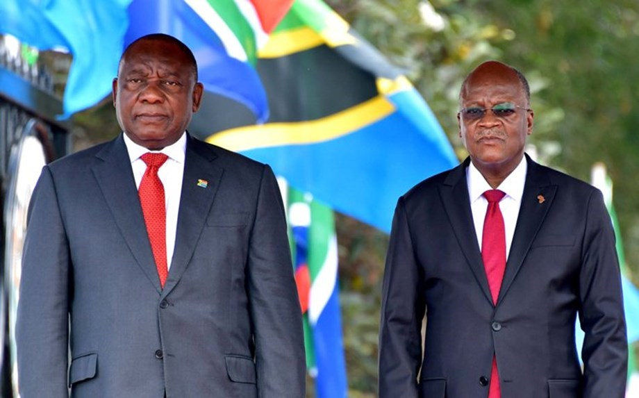 SA values historical, economic, cultural ties with Tanzania: President