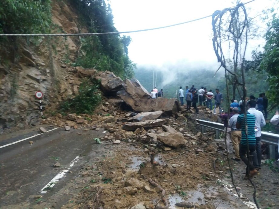 Landslide caused by heavy rains killed 11 people in central Colombian town of Marquetalia