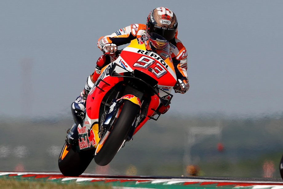Motorcycling-Marquez has one hand on sixth title after Aragon victory