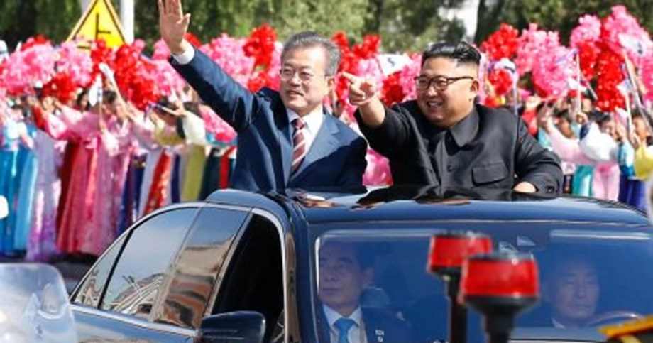 """CORRECTED-South Korean President says visit from North Korea's Kim """"a possibility"""""""